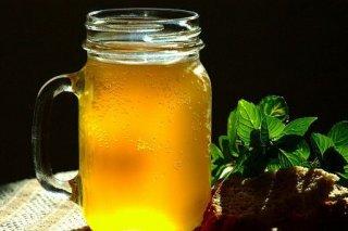 Receta de kvas de manzana