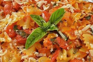 Receta de lacitos con tomates cherry
