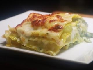 Receta de lasagna al pesto