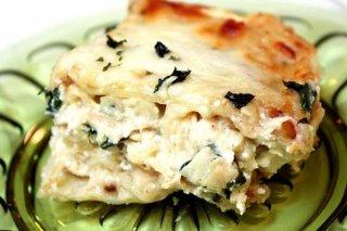 Receta de lasagna de pollo
