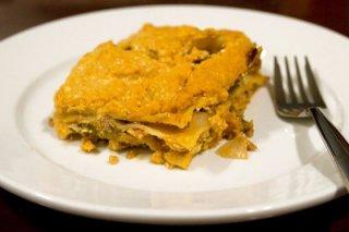 Receta de lasaña de calabaza y parmesano