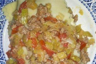 Receta de lasaña de carne con calabacín