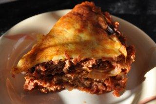 Receta de lasaña de carne molida y queso