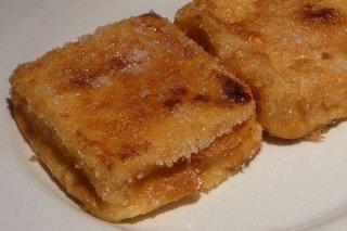 Receta de leche frita en thermomix