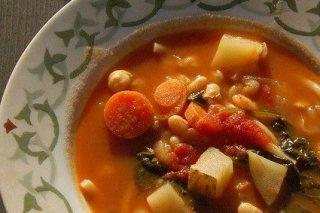 Receta de legumbres con espinacas