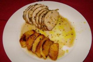 Receta de lomo con mostaza y miel