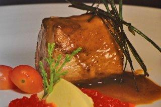 Receta de lomo con verduras