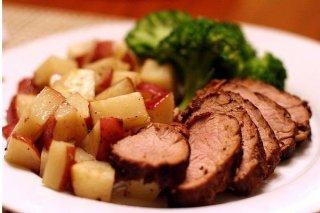 Receta de lomo de cerdo en salsa de atún