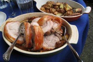 Receta de lomo de cerdo relleno con ciruelas