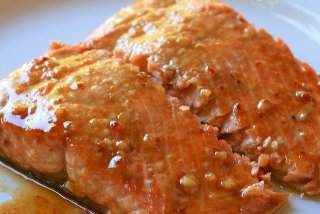 Receta de lomo de salmón