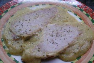 Receta de lomos de atún en salsa de espárragos