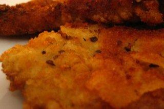 Receta de lomos de merluza empanados