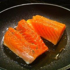 Receta de lomos de salmón a la plancha