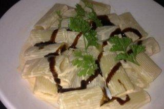 Receta de macarrones con salmón ahumado