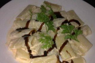 Receta de macarrones con salmón y vinagre modena
