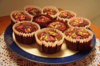 Receta de magdalenas de chocolate dukan