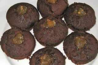 Receta de magdalenas de chocolate y naranja