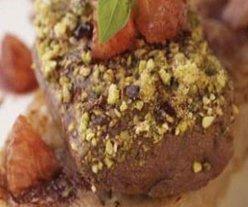 Receta de magret de pato rebozado en pistachos