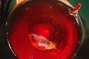 Receta de manhattan cocktail