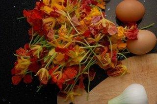 Receta de mantequilla de flores