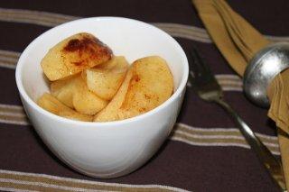 Receta de manzanas asadas en microondas