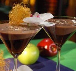 Receta de martini de chocolate