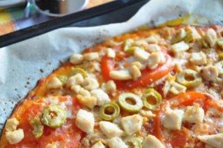 Receta de masa de pizza con coliflor