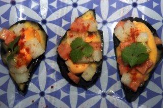 Receta de mejillones con piriñaca en su falsa cocha