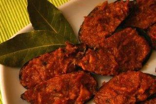 Receta de mejillones rellenos con salsa de tomate