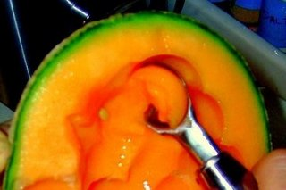 Receta de melón relleno
