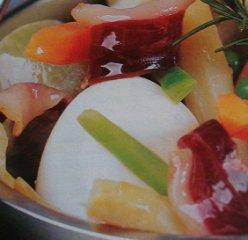Receta de menestra de verduras al romero