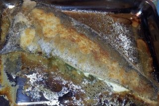 Receta de merluza al horno rellena