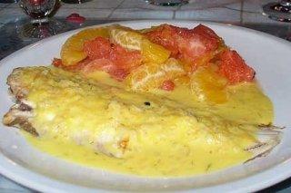 Receta de merluza en salsa afrodisíaca