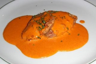Receta de merluza en salsa americana
