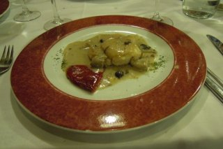 Receta de merluza rellena de jamón serrano