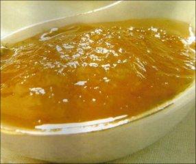 Receta de mermelada de pera con yogur sin azúcar