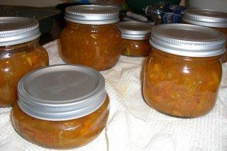 Receta de mermelada de pimiento con clavo y canela