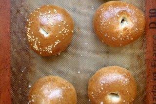 Receta de mini bagels