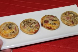 Receta de mini quiches rápidas