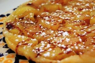 Receta de mini tartas de manzana al caramelo