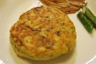 Receta de minitortilla de patata y tofu