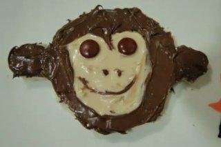 Receta de mono de crema de chocolate