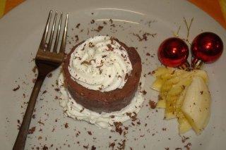 Receta de mousse de chocolate relleno