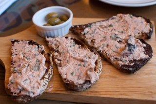 Receta de mousse de salmón para untar