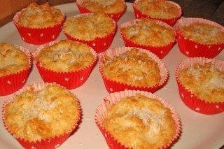 Receta de muffin de coco