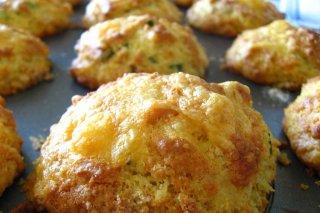 Receta de muffins de queso y espinacas