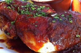 Receta de muslos con salsa picante
