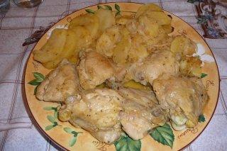 Receta de muslos de pollo a la naranja con salsa de soja