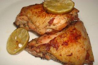 Receta de muslos de pollo asados