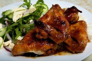 Receta de muslos de pollo con salsa de miel